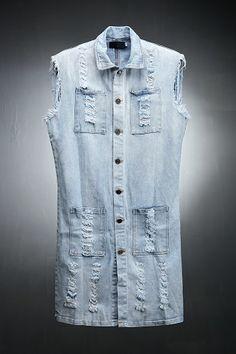 Demin Extend Vest