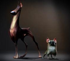 ArtStation - Dob and Bull, JB Vendamme