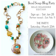 Pretty Things: Announcement of the Bead Soup Blog Party -- Bead Hoarders Edition