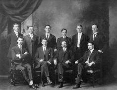 Historical Research Scholars at the Public Archives of Canada, Ottawa, 1911