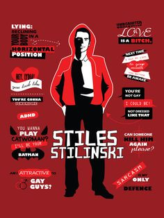 Stiles Stilinski Quotes Teen Wolf by nati-nio on deviantART