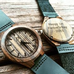 Mens Real Ebony Wood Watch With Custom Engraving, Wooden Watch for Him, Gift for Him, Mens Wood Watch, Personalized Wood Watch, Wedding Gift by axMen on Etsy https://www.etsy.com/listing/234705594/mens-real-ebony-wood-watch-with-custom