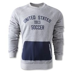 These 2013 crew neck sweatshirts by Nike for the #USMNT