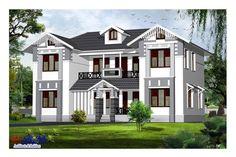 21 Best Kerla Homes Images Modern Houses Modern House Design