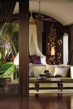 Opulence and rich textures at Four Seasons Chiang Mai Thailand