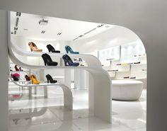 retail shoe display  | shoe store display