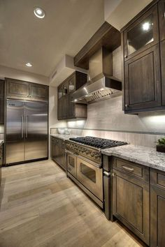 """like modern design due to the ultra modern facility and cooktop which can be very simple and useful. Checkout Contemporary Kitchen Design Concepts"""" and acquire inspired. Beautiful Kitchen Designs, Best Kitchen Designs, Beautiful Kitchens, Cool Kitchens, Small Kitchens, Remodeled Kitchens, Dream Kitchens, Luxury Kitchens, Modern Kitchen Cabinets"""
