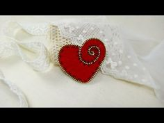 How To Make A Decorative Heart With Zipper - DIY Crafts Tutorial - Guidecentral - YouTube