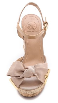 Tory Burch Penny wedges.