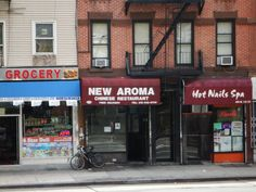 NYC buildings (everything you need on one corner)
