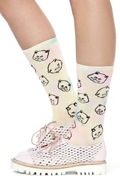 UNIF So Catty Socks