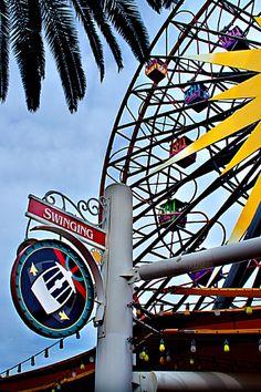 Disneyland // Disney California Adventure // Mickey's Fun Wheel