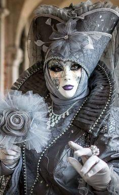 Venice Carnaval by Marc Safran Venice Carnival Costumes, Mardi Gras Carnival, Venetian Carnival Masks, Carnival Of Venice, Venetian Masquerade, Masquerade Ball, Venice Carnivale, Venice Mask, Arte Peculiar