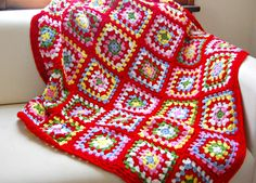 I finished my Cath Kidston blanket yesterday morning! It was actually a reasonably quick crochet for a blanket and so fun to make. I ...