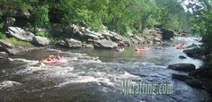 Rafting in Northern Minnesota on the beautiful and clean Kettle River. #cleanwater #mnrafting #mnwhitewater