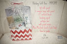 Holiday gift baskets!  www.mangoreclaimed.com