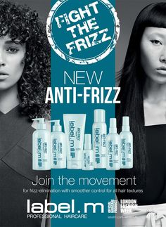 New label.m Anti-Frizz System: Smoother Control for All Hair Textures Anti Frizz, Textured Hair, Cool Gifts, Hair Care, Label, News, Cool Presents, Hair Makeup, Hair Treatments