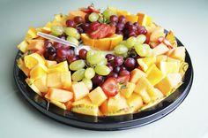 Fruit Platter (Large) Party Fruit Platter, Fruit Platters, Fruit Recipes, Fruit Salad, Catering, Promotion, Food, Marketing, Fruit Trays
