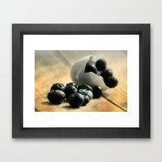 Extravagant Wild Berries  Framed Art Print