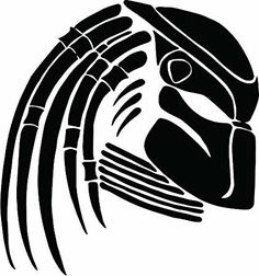Stencil Art, Stencils, Predator Alien, Scroll Saw Patterns Free, Robot Concept Art, Alien Art, Cartoon Sketches, Silhouette Cameo Projects, Pyrography