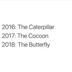 I scrolled past this without thinking much at first but actually now I've sat down this is v true for me! 2016 was a struggle for me I was unhappy in my body and my job and together I spent most of the year fighting with what I felt I should be doing vs what I actually wanted for myself 2017 has brought me so much GROWTH I've worked through so much of my own shit done a lot of processing and preparing and studying and most importantly getting to know myself and my gifts and 2018 is when I'm…