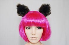 Faux Fur Ears-Anime-Cosplay-Halloween-Costume-Cat Ears-Wolf Ears-Fox Ears-lolita accessories-Lolita