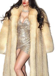 Red Fox, Furs, Mantel, Fur Coat, Jackets, Fashion, Fur, Down Jackets, Moda