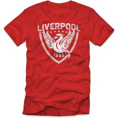 8f780b138f5cd Liverpool Crest T-Shirt