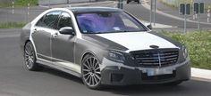 #Erlkönig erwischt: Erste #spyshots der kommenden #Mercedes #S-Klasse mit #AMG Paket