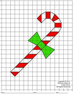Star Of Bethlehem Christmas Coordinate Drawing  Graphing