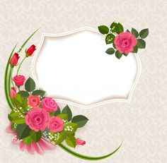 ✼ ✻ ✺ ✹ ✸ ✷ ₪ ❃ ❂ ❁ ❀ Month Flowers, Fall Fruits, Mary Kay, Embellishments, Decoupage, Floral Wreath, Doodles, Wreaths, Shapes