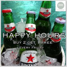 Happy hours!! Buy 2 get 1 free!! come and visit us at Mase Kitchen & Wine Bar Seminyak