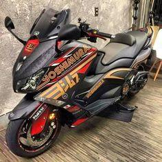 TMax Yoshimura Moto Enduro, Enduro Motorcycle, Tmax Yamaha, Scooters, Scooter Design, T Max, Cars And Motorcycles, Seat Cupra, Bike