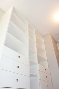 Walk-in Closet - Lower Mission - Contemporary - Classic White Closet - STOR-X Organizing Systems, Kelowna