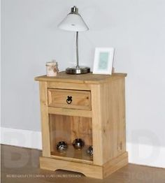 one bedside table £36