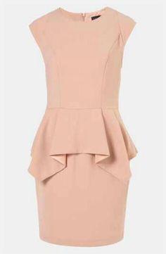 Topshop Origami Dress