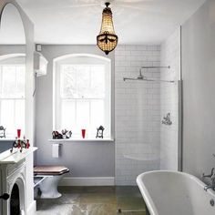 Victorian vintage bathroom