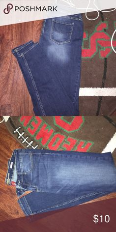 Super Skinny Jeans Well worn, but in GREAT condition! Arizona Jean Company Jeans Skinny