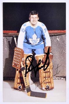 Bernie Parent with the Leafs. Hockey Goalie, Hockey Teams, Ice Hockey, Bernie Parent, Maple Leafs Hockey, Goalie Mask, Masked Man, Vancouver Canucks, National Hockey League