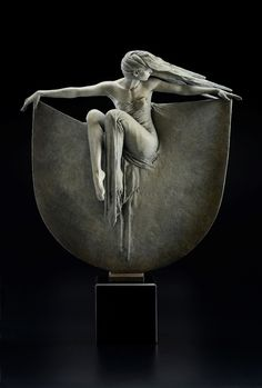Michael James Talbotis a master at creating breathtaking bronze sculptures that venerate the gentle tension and balance of the female form.