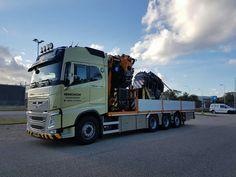 Volvo FH zwaar autokraan speciaaltransport..Hijsblok.