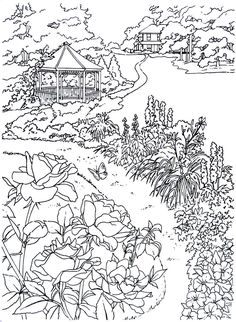 38 Best Living in the Country Coloring Book Pages images in ...