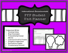 Organize your PYP students with this IB unit planner! #PYP #IB #Inquiry
