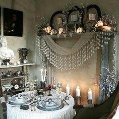 Vintage Table by Elizabeth Maxson