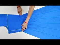 Umbrella Suit/Gown Cutting (Step By Step) In Easy Way - YouTube