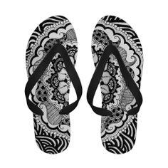 Zendala Flip Flops für den Sommer Flipping, Den, Flip Flops, Sandals, Shoes, Fashion, Unique Gifts, Moda, Shoes Sandals
