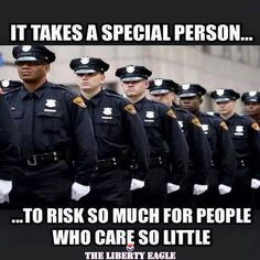 Police save more lives than they take