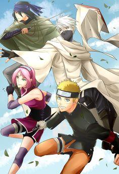 Tags: Fanart, NARUTO, Haruno Sakura, Uzumaki Naruto, Uchiha Sasuke, Hatake Kakashi, Pixiv, Team 7, Fanart From Pixiv, Pixiv Id 5065207