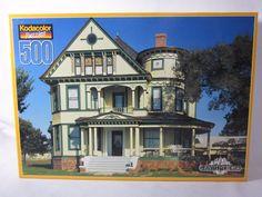 Kodacolor Bluebonnet Drive Texas Jigsaw Puzzle 500 Piece SEALED Beautiful house #Kodacolor #Puzzle