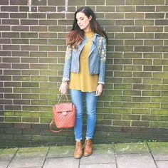 WEBSTA @ itsmarziapie - Today's outfit. I didn't even realise while posing but…
